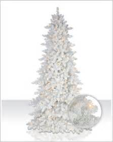 flocked white fir christmas tree christmas tree market