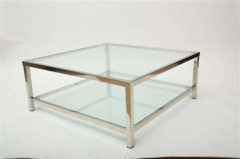 Glass Coffee Table Ikea 30 Best Chrome Coffee Tables