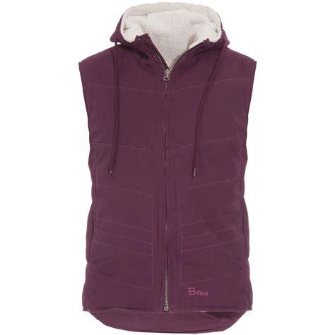 s berne 174 washed hooded vest 621571 vests at