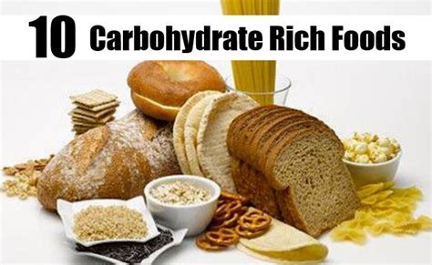 what foods are carbohydrates carbohydrates rich foods food ideas