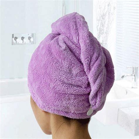 Hair Towel 1 Pc towels bathroom hair towel 1pc womens magic hair