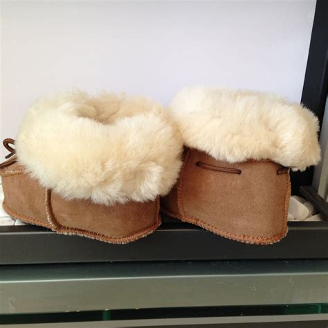 toddler sheepskin slippers chestnut baby toddler merino sheepskin slippers warm