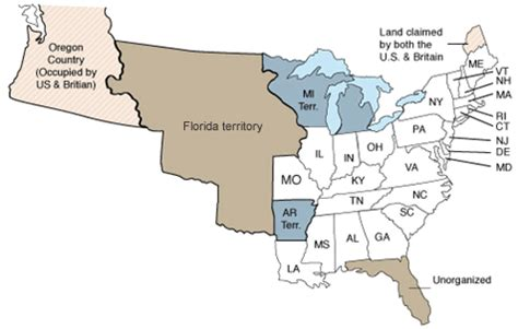 map of the united states in 1830 us census 1830 findmypast co uk