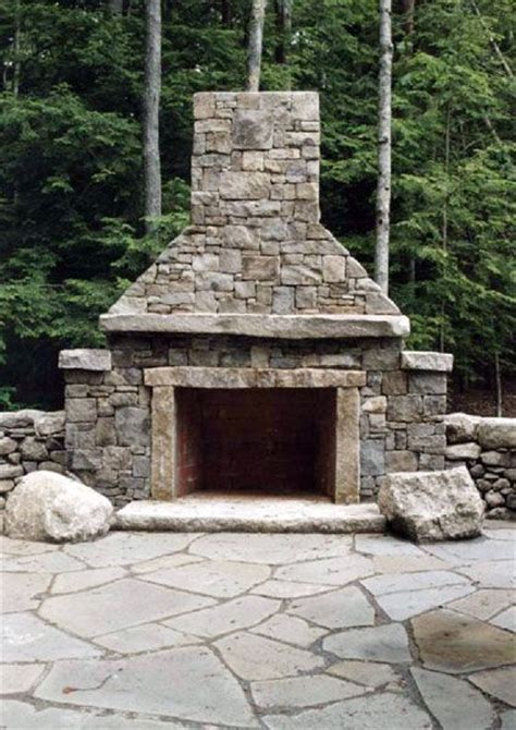 outdoor stone fireplace my precious outdoors decor ideas pinterest