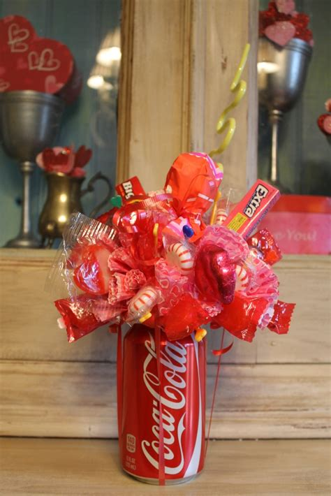 Glass Vases For Candy Bar Celebrate With These 20 Diy Candy Bouquets