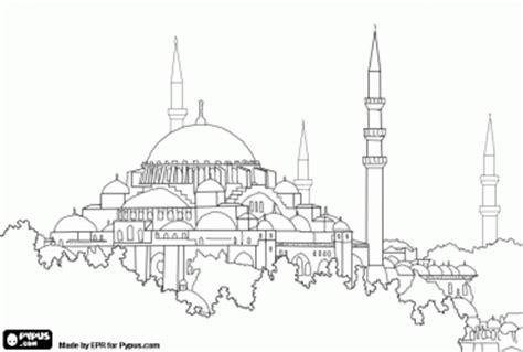 hagia sophia istanbul turkey coloring page coloring 2 hagia sophia colouring history byzantine pinterest