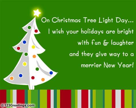 a bright christmas tree light day free christmas tree