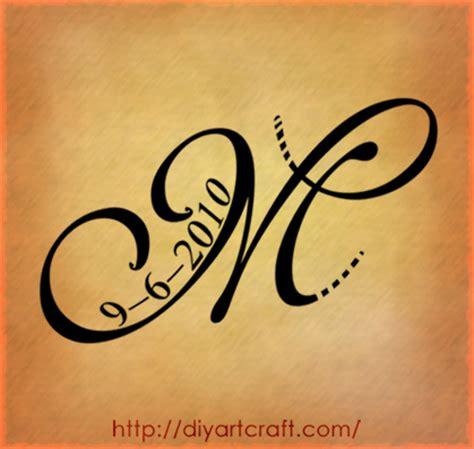 m tattoos letter m tattoos on initial wrist tattoos