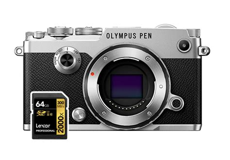 Memory Olympus best sd cards for olympus pen f mirrorless cameras