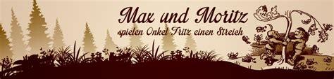Max Und Moritz Onkel Fritz 4704 by Max Und Moritz Onkel Fritz Bl 252 Hendes Barock