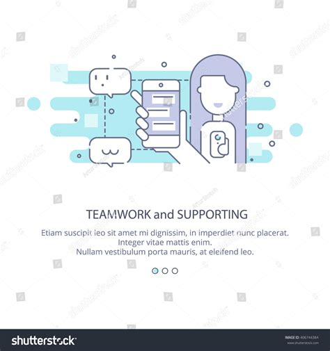 svg layout manager web page design template company profile stock vector