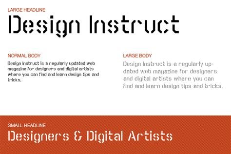 design instruct font free download font collection 10 stylish free stencil fonts
