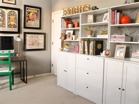 10 tips for designing your home office hgtv 5 quick tips for home office organization hgtv