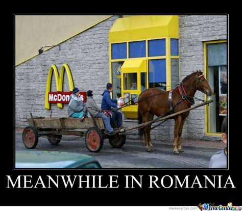 Meme Ro - meanwhile in romania by eleptic meme center