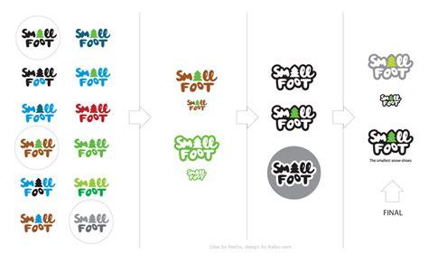 make my logo smaller small foot snowshoes logo design ralev brand design