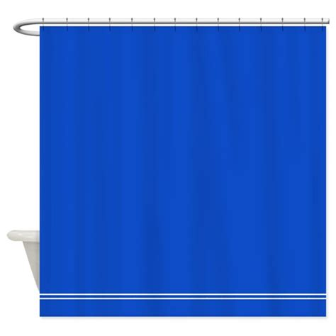 royal blue shower curtain by inspirationzstore