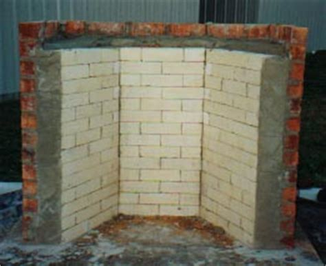How To Lay Brick Fireplace by Hart Rumford Fireplace Construction Using The Forms