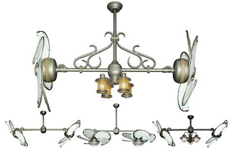 twin star ii double ceiling fan 32 inch double twin star nautical ceiling fan with white