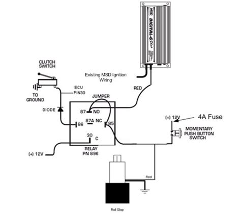 msd 6al 2 wiring diagram msd two step wiring diagram wiring diagram and schematic