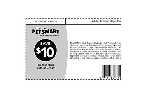petsmart coupons 10 off grooming