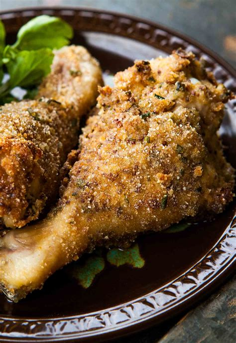 breaded and baked chicken drumsticks recipe simplyrecipes com