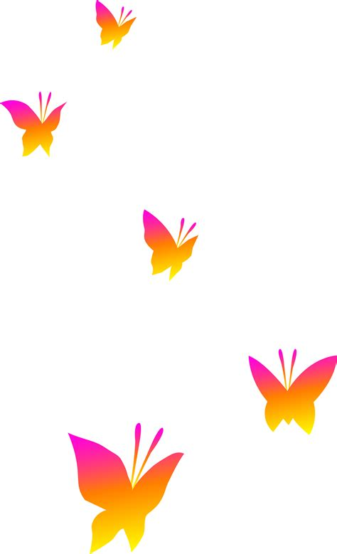 Free Transparent Clipart butterfly border clipart clipart best