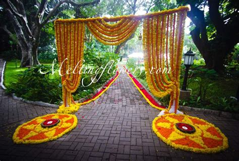 entrance decoration wedding decoration pictures flower decoration for