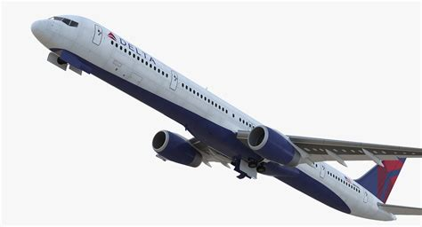 boeing 757 cabin boeing 757 300 delta cabin 3d turbosquid 1255410