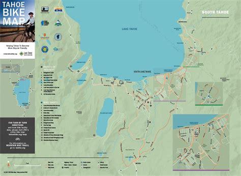 lake tahoe map tahoe bike map lake tahoe bicycle coalition