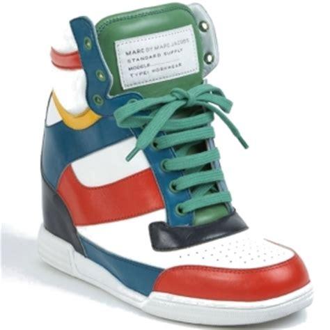scarpe con zeppa interna marant marc by marc sneakers con la zeppa interna pensorosa