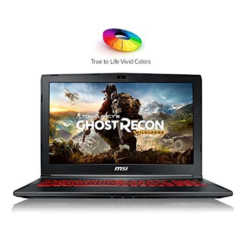 Gaming Laptop 15 Quot msi gl62m 7rdx 1096 15 6 quot hd thin and light