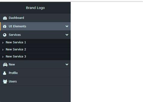 responsive design vertical menu responsive vertical navigation menu on air code