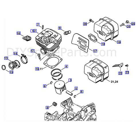 stihl ms 361 parts diagram stihl ms 361 chain parts at home