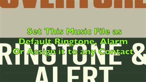 don theme ringtone william tell overture theme ringtone and alert youtube