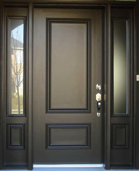 Black Contemporary Front Door Best 25 Black Exterior Doors Ideas On Entry Way Lighting Fixtures Modern Cottage