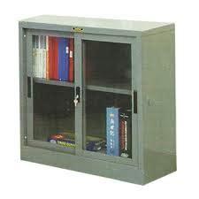 Lemari Sliding 2 Pintu Setengah Kaca Merk Pin Kong Furniture jual lemari arsip tangerang selatan situs furniture
