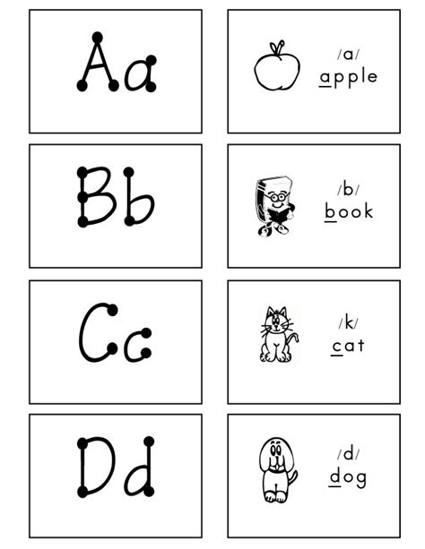 printable number and letter flashcards 6 best images of free printable the whole flash cards