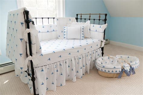 William Crib Bedding sweet william by the sea sailboats crib bedding featured at babybox