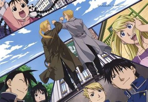 C Anime Ending by Happy Ending Fullmetal Alchemist Brotherhood Fmab