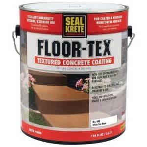 seal krete floor tex 1 gal 440 white base tintable