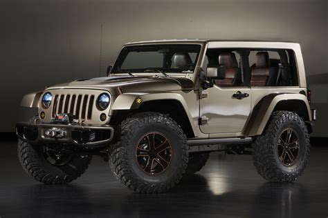 Concept Jeeps Jeep Wrangler Flattop Concept 2013 Mad 4 Wheels