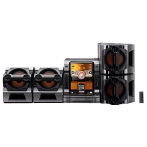 Mini Shelf Systems by Forsale Sony Lbt Zx99i 5 Disc Cd Changer Mini Shelf System