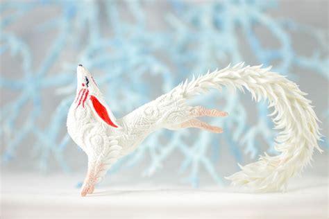 Magic White comission white magic fox by hontor on deviantart