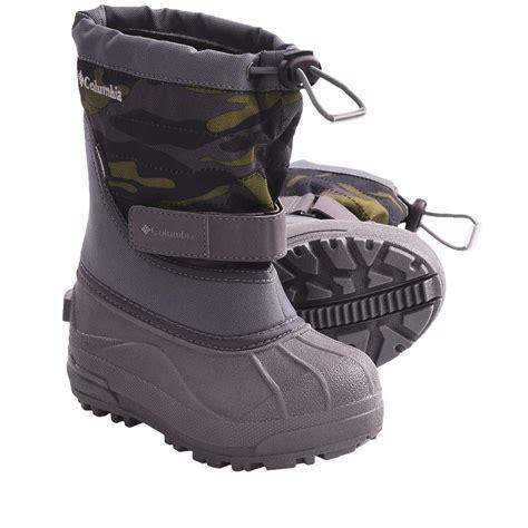 columbia snow boots for columbia sportswear powderbug plus ii print snow boots