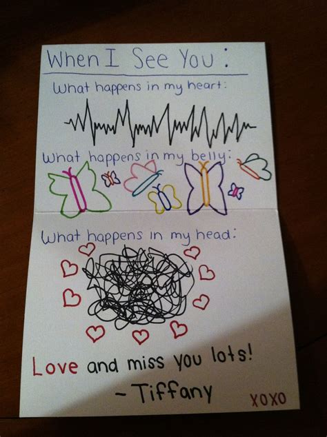 ideas for your boyfriend 8 best images of card ideas for boyfriend
