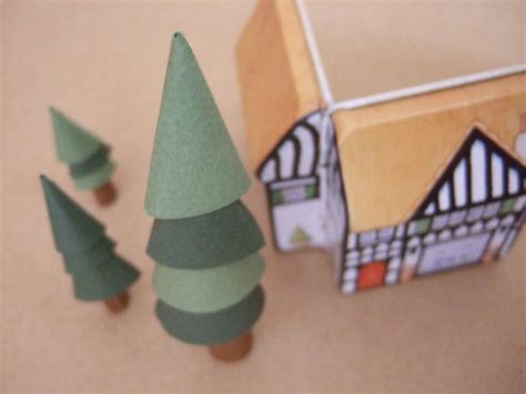 How To Make Paper Cone Trees - stackable paper cone tree bloomize