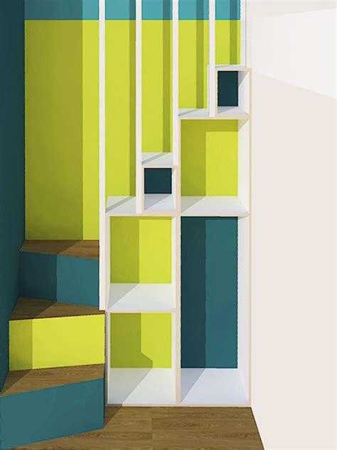 hochbett treppe regal neubauen design m 246 beldesign