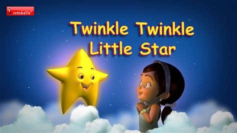 twinkle twinkle little star twinkle twinkle little star nursery rhymes with lyrics youtube