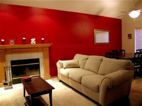 accent wall living room home interior design