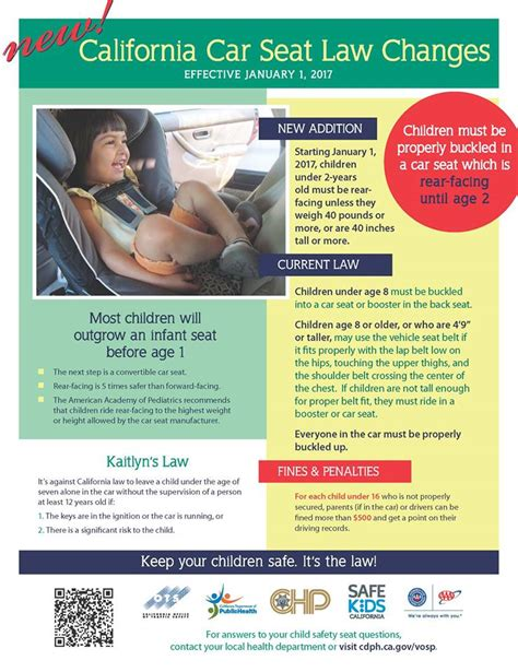 service in laws california california child car seat laws changing for 2017 our